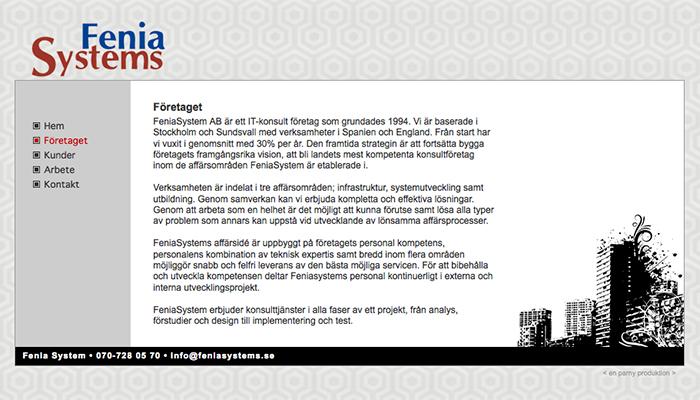 Fenia Systems